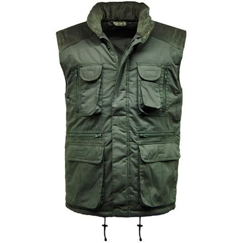 Multi Pocket Padded Gilet