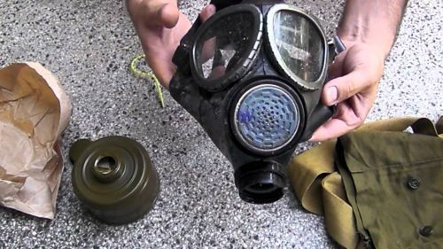 Gas mask with filter - PG-1