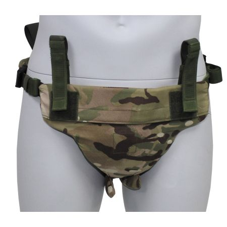 GB pelvic protector, MTP camo, with protection inlay