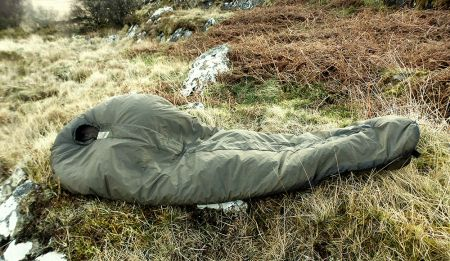 British army arctic sleeping bag -20С