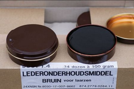 Dutch Army brown polish