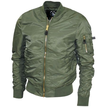 US Airforce Jacket, MA1 - Olive green