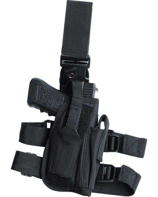 Tactical Leg Holster - Black