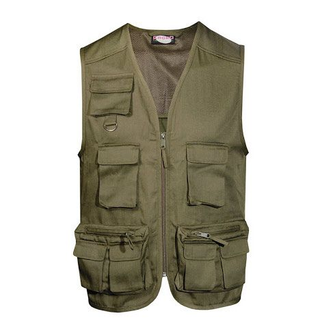 Tourist vest with multi pockets
