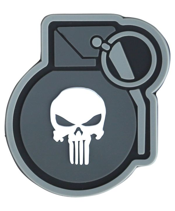 PVC tactical patch - Punisher Grenade