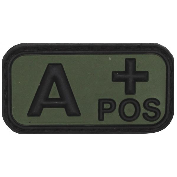Blood group patch - A+