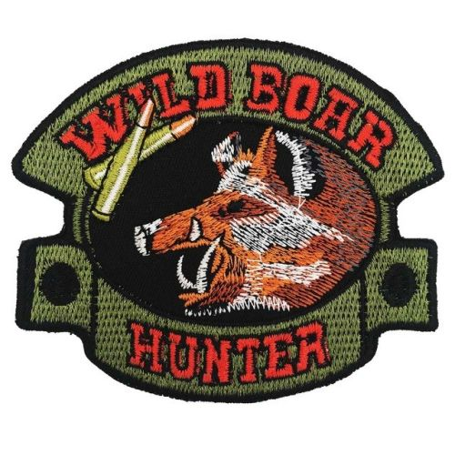 Iron Emblem / Patch - Wild boar hunting