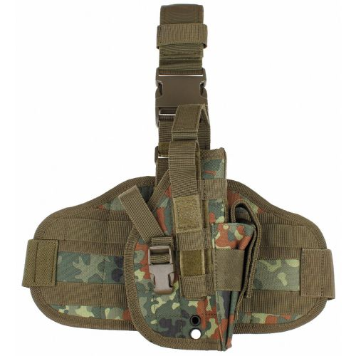 Thigh Tactical Holster - Flecktarn