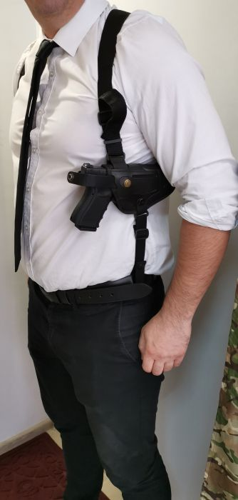 Police holster with a module - France