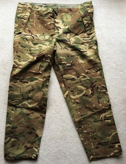 British army MTP Gore-tex trousers , Used