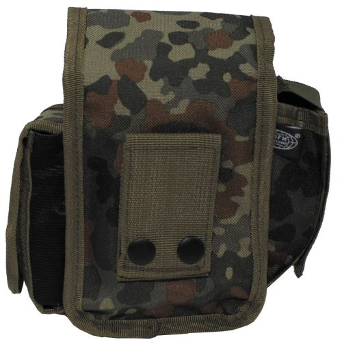 Belt Pouch with 3 compartments, BW camo