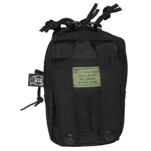 "Utility Pouch, ""MOLLE"", small, black"