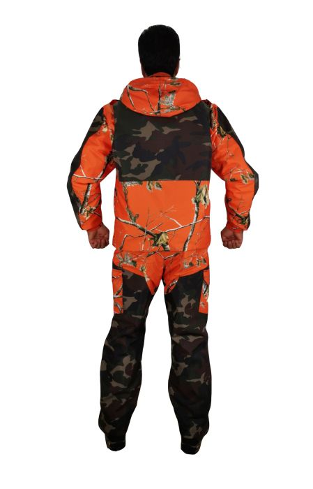 Winter, hunting suit HI-VIS, waterproof