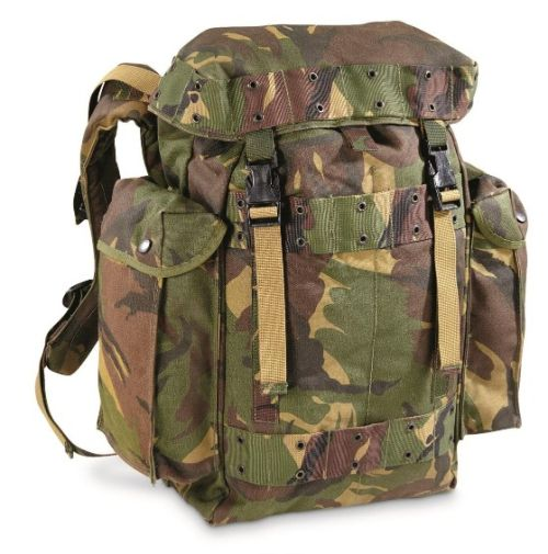 Deluxe Dutch Military Surplus Backpack