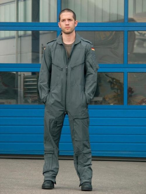 BW pilot coverall, ABC, grey