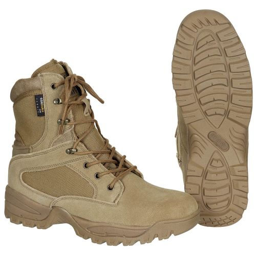 "Boots, ""Mission"", Cordura, lined, Coyote tan"
